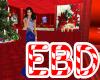 EBD~ Navy Diamond Gown