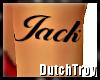 Jack arm tattoo