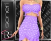 Mimi purple dress