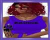CW Baddie Purple Tie Top