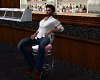 PINK BAR STOOL FOR MALE