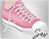 *S Pink Sneakers