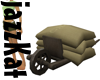 Wheelbarrow +sacks