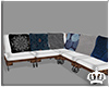 |♕| Boho Wooden Couch