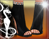 Shoes BLack  Chains