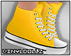 !V! Sneakers Yellow
