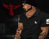 T  Black Polo Shirt