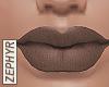 . liz matte lips | stone