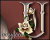 Deco Rose Sticker (U)