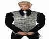 Blackshirt w/silver vest
