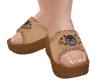 TF* Concho slide sandal