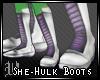 She-Hulk Boots