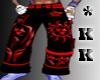 *KK Toxic Red Baggys