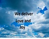 we deliver love and joy