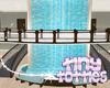 Hospital Waterfall Bench