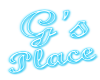 (1M) G's Place neon