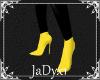 Batgirl Boots - yellow