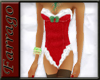 ~F~Xmas Corset~Red