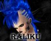 Royal Blue Mohawk