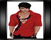 Striped Shirt Red