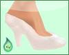 Essential Heels White