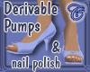 Pumps with Nail Polish