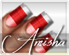 AMI Candy Cane Nails