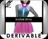 ! 227 Keyhole Dress