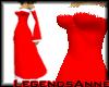 SantaDress - Red/White