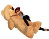 Cuddle teddy holding