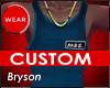 MBE Custom Tank blue