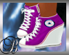 Purple Converse Wedge