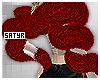 Red Fur Boa