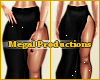 M! Long Black Skirt XXL