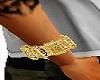 Right Arm Gold Bracelet