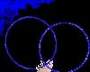 Rave hoops: blue m/f