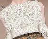 !A White frills blouse