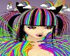 rainbow raver cat eyes