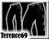 69 Goth Pants -Black