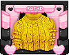 Yellow TurtleneckSweater