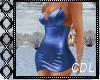 !C* Classy Blue Dress