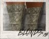 LV Camo Boots