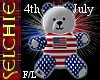 !!S 4th July Bear F