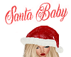 Santa Baby Headsign