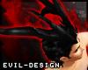 #Evil Black Incubus Horn