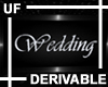 UF Derive Wedding Sign