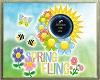 Spring Fling floor sign