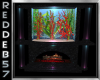 Mermaid Fireplace