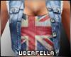 Jeans Jacket Vest UK