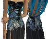 :Flower Blue dark :